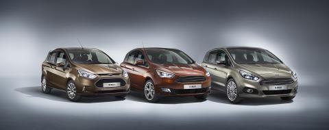 Ford B-MAX, Nye Ford C-MAX og nye Ford S-MAX
