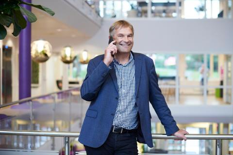 Abraham Foss - adm. dir. i Telia Norge