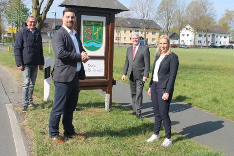 Erdgas in der Energiewende: Stadt Delbrück und Westfalen Weser Netz untersuchen Effizienz in Schöning