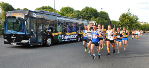 Go North East is 'Gannin' alang the Scotswood Road' in branded Blaydon Race buses