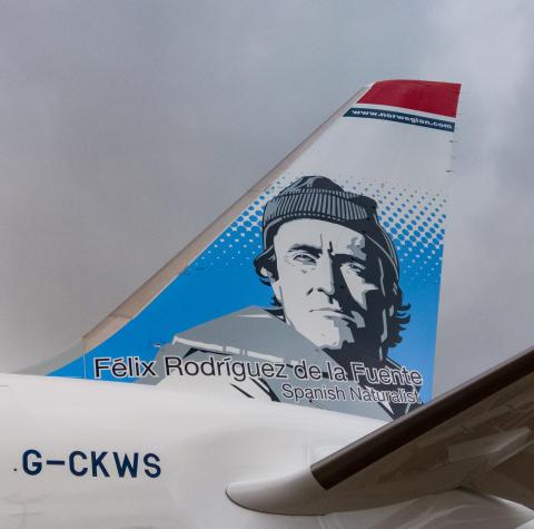 G-CKWS Rodríguez de la Fuente (detalle)