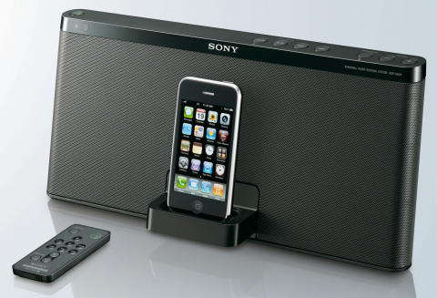 Docking Station RDP-X50iP von Sony