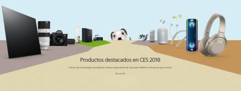 Sony presenta nuevos productos y sienta las bases del futuro con AI x Robotics, con los sensores de imagen para la automoción y más conceptos en el CES 2018