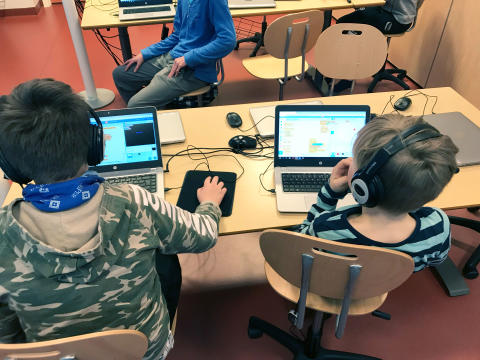 The Code Club encourages children to embrace technology