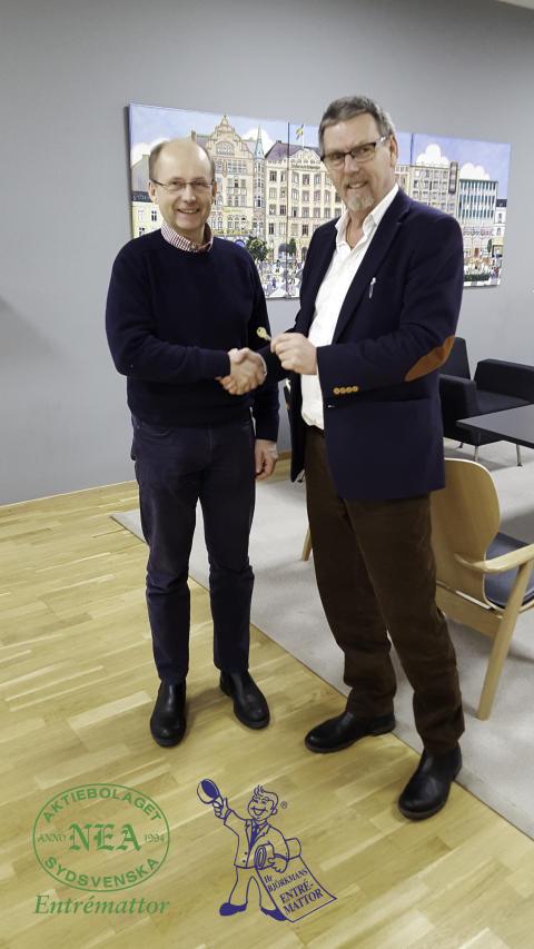 Hr Björkmans Entrémattor förvärvar Sydsvenska Nea AB