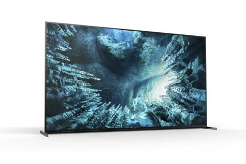 8K HDR Full Array LED телевизорът на Sony ZH8 вече е достъпен