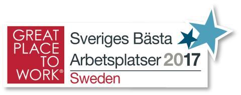 Sveriges bästa arbetsplats - Great Place to Work