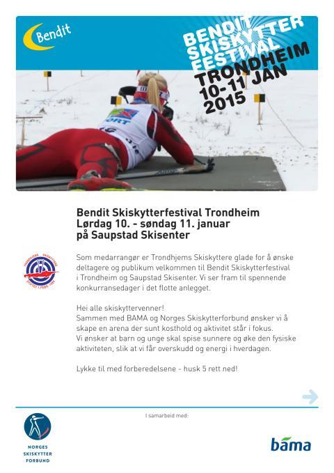 Bendit Skiskytterfestival Trondheim