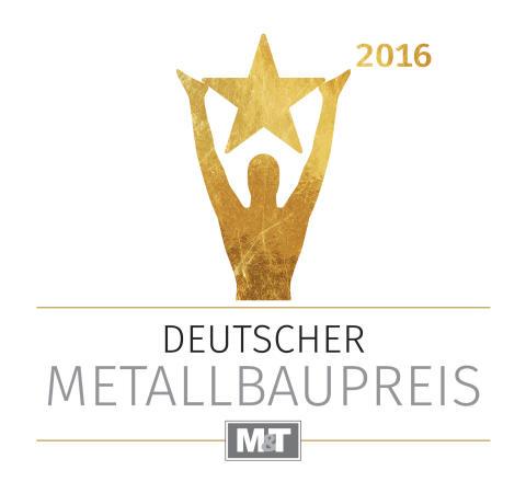 Logo Deutscher Metallbaupreis 2016