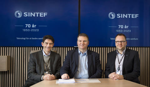 SINTEF og Sopra Steria signerer