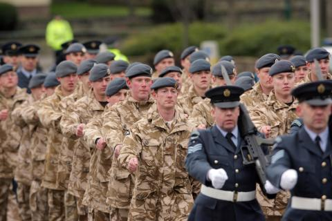 Moray Armed Forces celebration Day