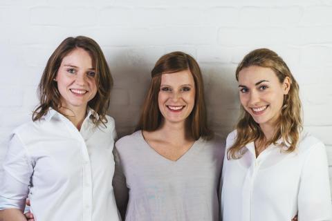 Die drei Selfapy-Gründerinnen