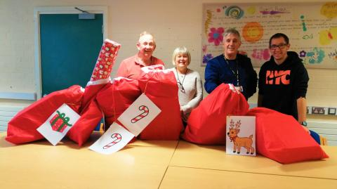 Christmas toy donations will put smile on foster children's faces