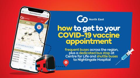 How to get to your COVID-19 vaccination appointment