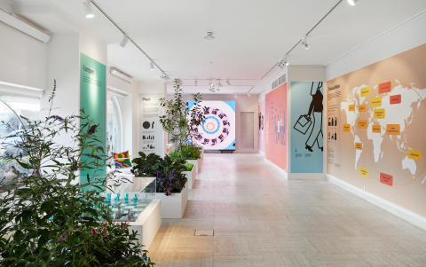 Välkommen till biosfären - en utställning på Svenskt Tenn om köttkonsumtion, palmolja, plast, normer, etik och ekonomi