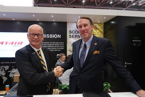 Satair Group and Senior Aerospace SSP sign long - term distribution deal for high pressure ducting and flexible joints products