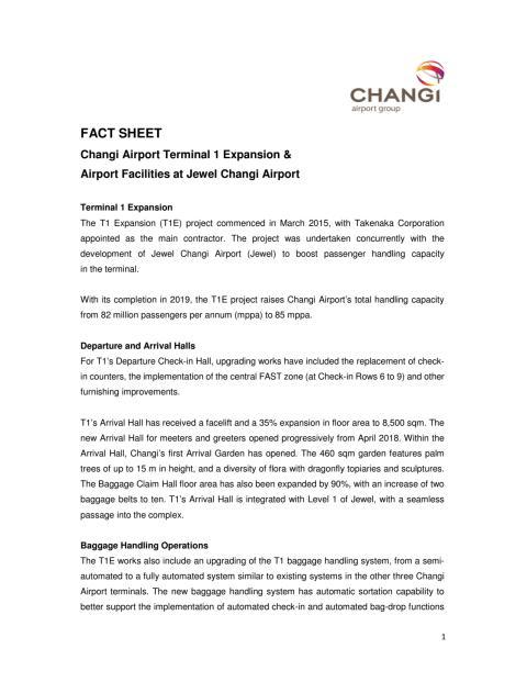 [FACT SHEET] Airport Facilities in Jewel