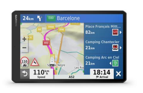 Vieo Garmin Navigationsfunktionen