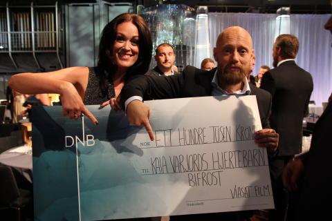 Kaia Varjord vant Amanda og får gi bort 100 000 kr til sitt hjertebarn
