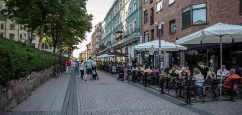 Borås City möjliggör för en fortsatt levande stadskärna i coronatider.