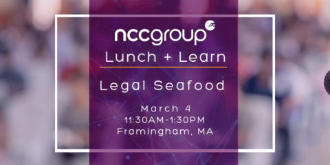 Boston Lunch and Learn