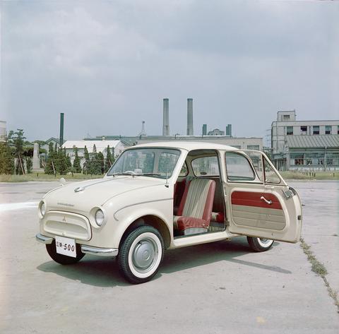Aufbruch in die Moderne: 1960 startet mit dem Mitsubishi 500 die Pkw-Großserienproduktion