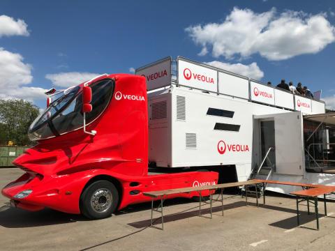 Mission Arbeitssicherheit: Mit dem Truck auf Tour in Bretzfeld (Baden-Württemberg)