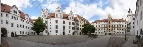 Panorama Schloss Hartenfels Torgau © Landratsamt Nordsachsen / Wolfgang Sens