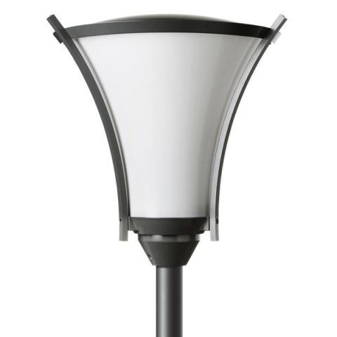 DEFA-Athene-Park-opal-LED-pole-mounted-utendørsbelysning-600x600