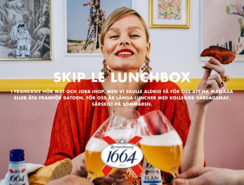 1664 lanserar nytt kommunikationskoncept - Ska inspirera svenskarna att leva mer som fransmännen