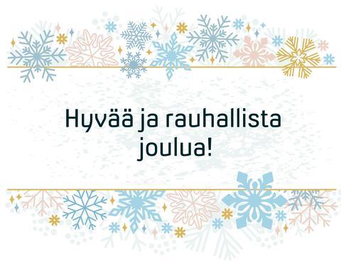 Alertum toivottaa hyvää ja rauhallista joulunaikaa kaikille!