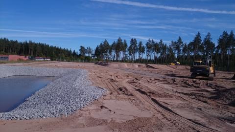 Sveriges bästa återvinningscentral byggs i Skutskär