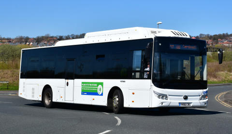 Yutong electric buses confirmed for Go North East