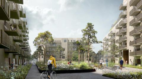 Alma Property Partners og AG Gruppen udvider samarbejdet med 231 nye, bæredygtige boliger i Herlev