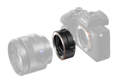 Sony kondigt nieuwe adapter voor A-mount objectieven aan