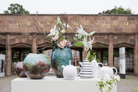 Keramikmarkt Leipzig im GRASSI - Präsentation von Keramik