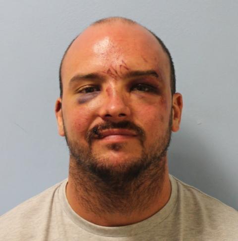 Man who brandished shotgun at victim at his front door jailed