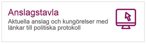 Region Uppsala inför digital anslagstavla