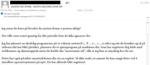 E-postsvindel