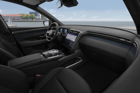 all-new Hyundai Tucson interior (3)