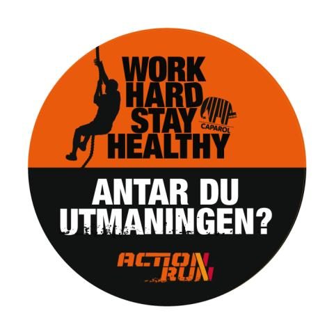 Work Hard Stay Healthy badge