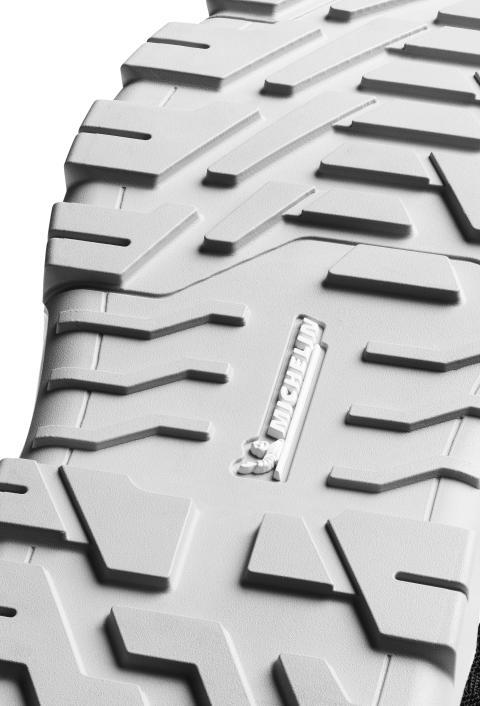 Arbesko utrustar nya skyddsskor med sula från Michelin