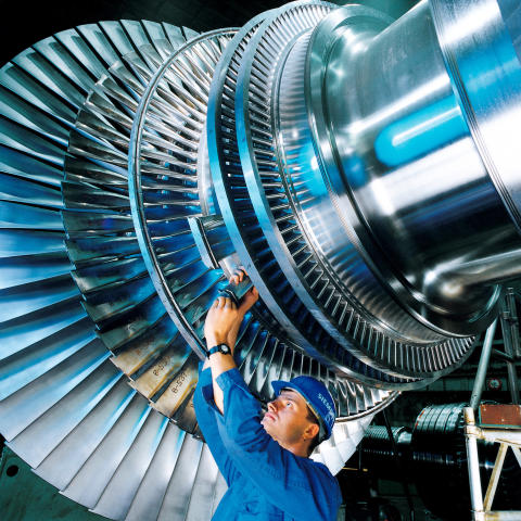 No. 7. Steam turbine