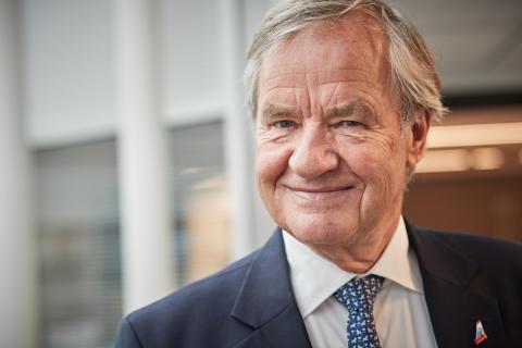 Bjørn Kjos slutar som koncernchef på Norwegian