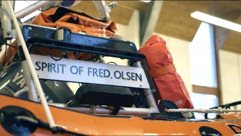 Fred. Olsen Cruise Lines and the Royal National Lifeboat Institution launch new promotional partnership video
