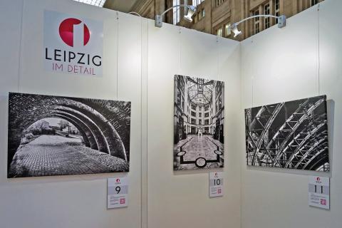 """""""Leipzig im Detail"""" - neue Ausstellung  von Philipp Kirschner im Promenaden Hauptbahnhof Leipzig"""