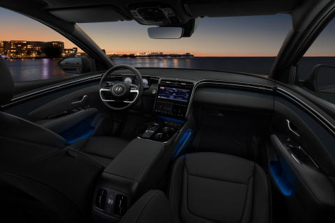 all-new Hyundai Tucson interior (2)