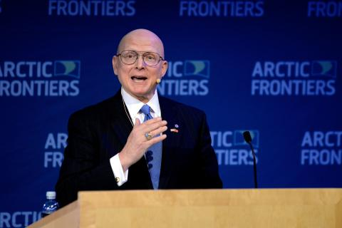 Arctic Frontiers Policy 2015, Robert J. Papp Jr., US Special Representative for the Arctic