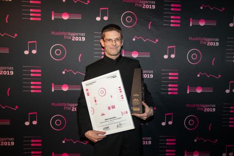 Musikförläggarnas Pris till Albert Schnelzer / Swedish MPA Award to Albert Schnelzer