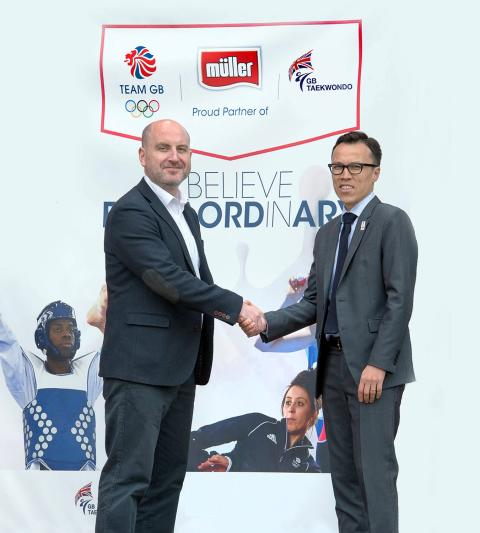 Müller Partners Up With GB Taekwondo for Rio 2016 Olympic Games